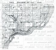 Township 9. N., Range 6 E. - Sauk City, Prairie Du Sac, Sauk County 1921